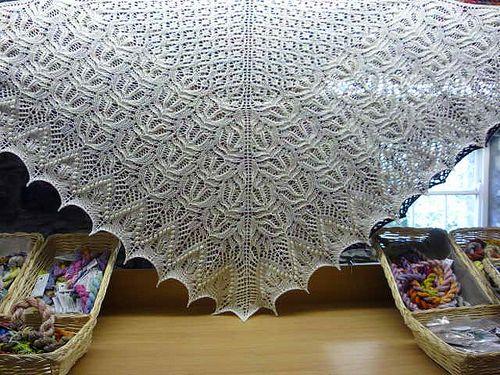 Ravelry: Percy Shawl pattern by Sanne Kalkman