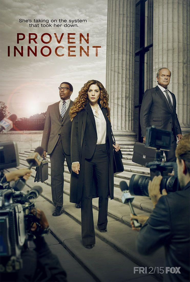 Das Poster Zur Neuen Fox Serie Proven Innocent Mit Rachelle