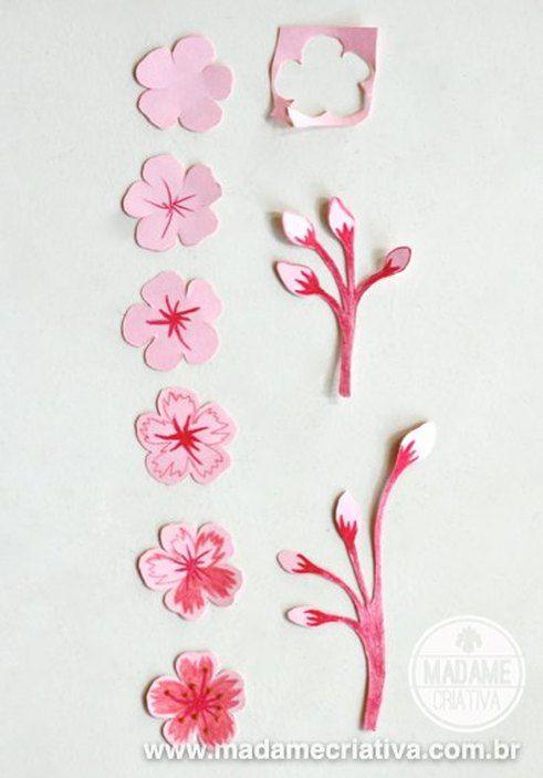 Picture | flores de papel | Pinterest