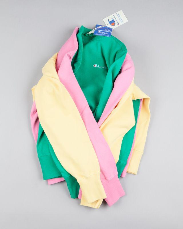 c812ed79383e Three poppin  colourways in the Champion Classic Reverse Weave Crewneck  Sweatshirt. Just landed