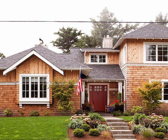 Choose The Best Material For Your Home S Exterior With Our Guide To Siding Options House Siding Options Cottage Style Homes Cottage Style