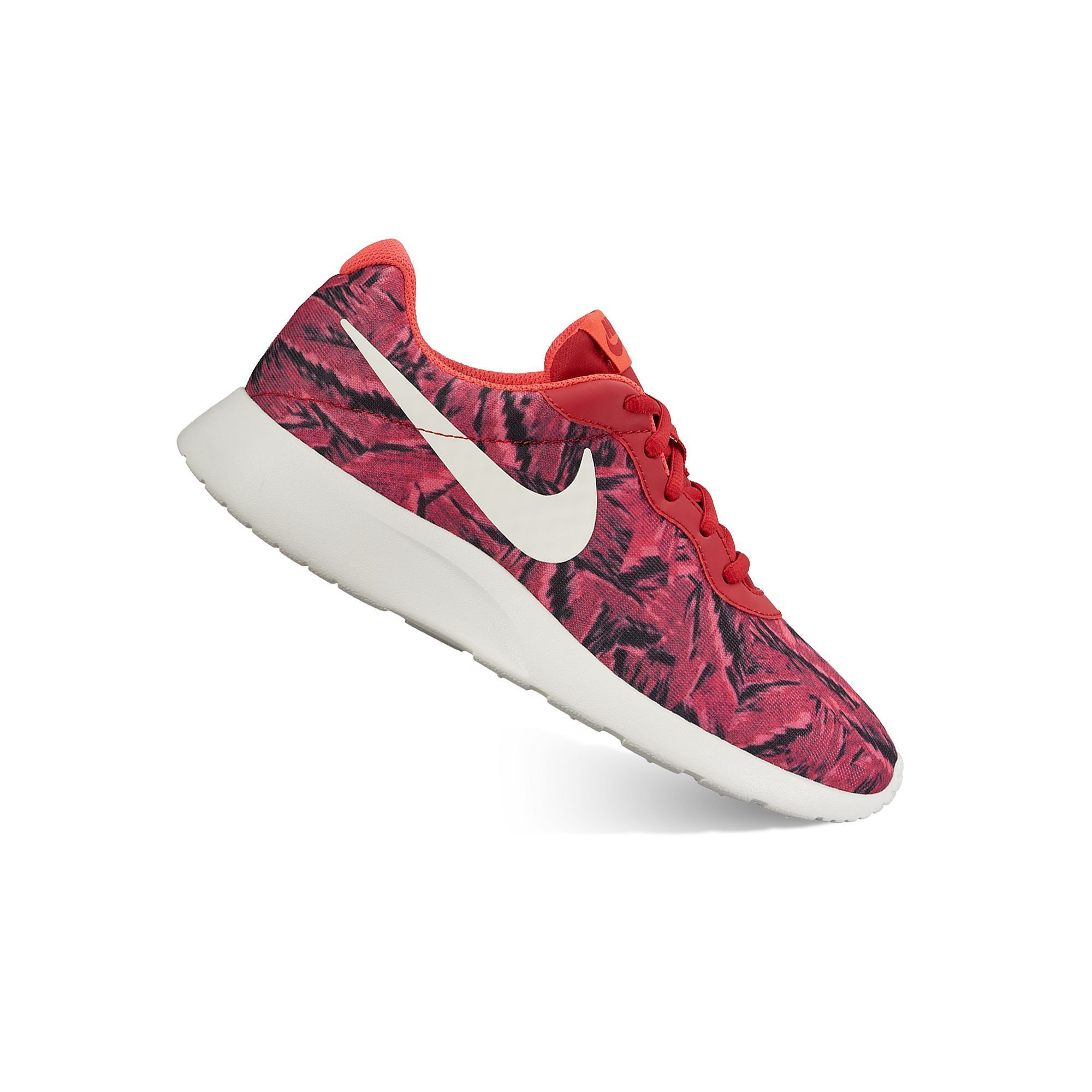 b90d025c1d6 Nike Tanjun Women s Camo Print Athletic Shoes in 2019