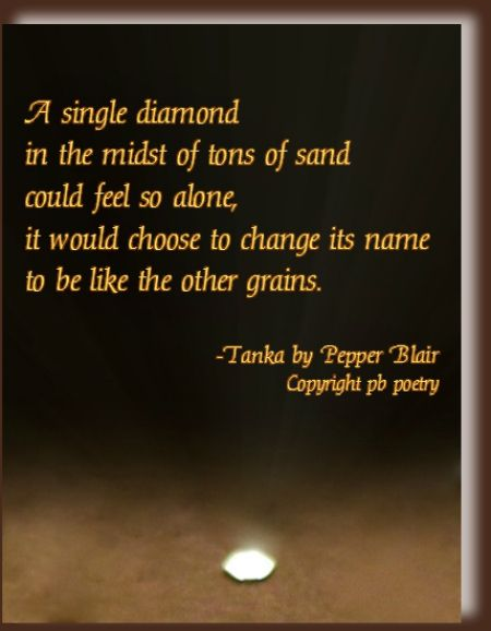 Wwwlove Quotes Inspiration A Single Diamond Httpwww.lovepbpoetrytankapoetry.html