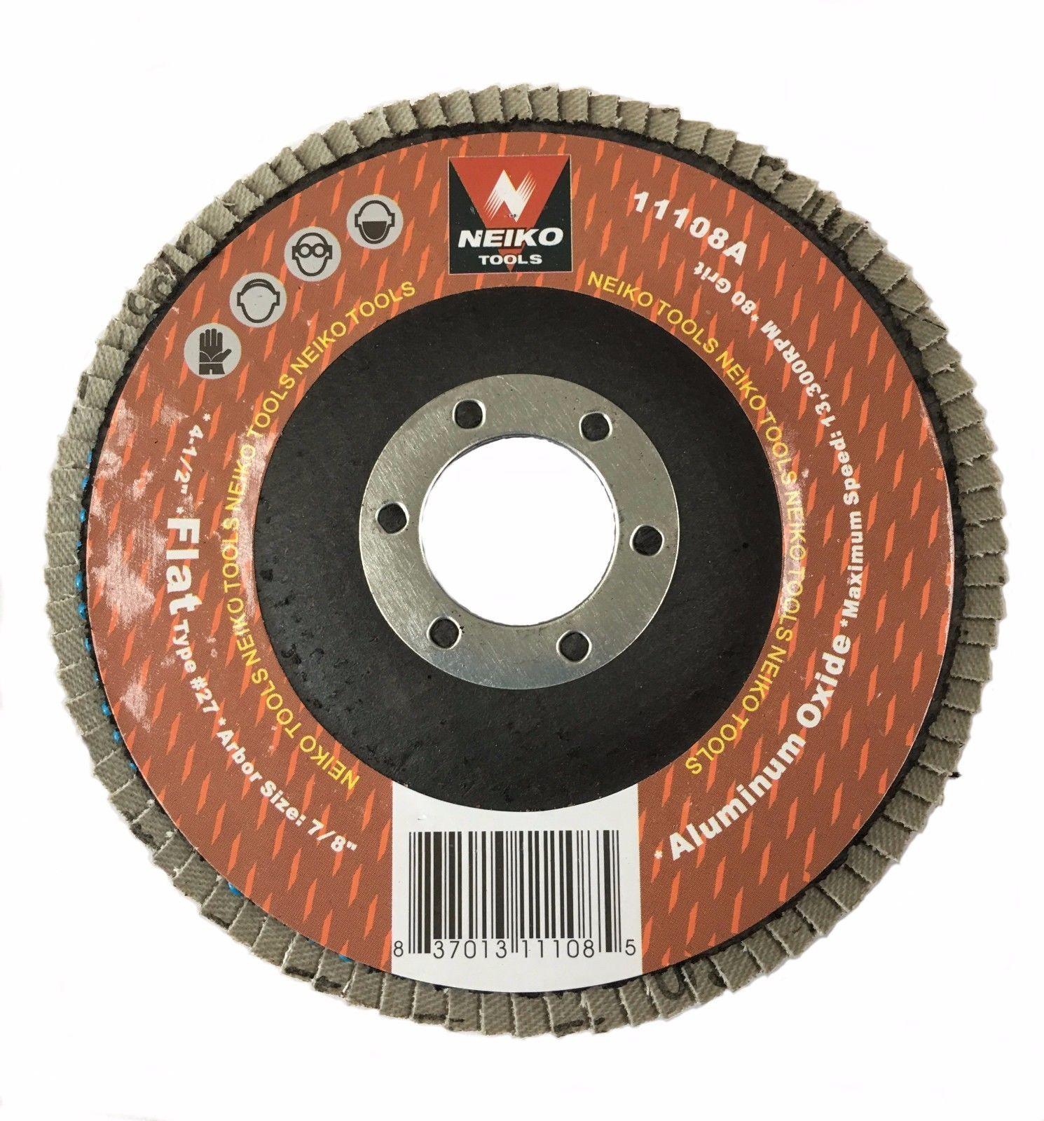 Best Details About 10 Pack Aluminum Oxide Flap Disc 4 5 X 7 400 x 300