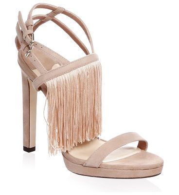 Jimmy choo Fringe Stiletto Suede Sandals wXUM3SXYk