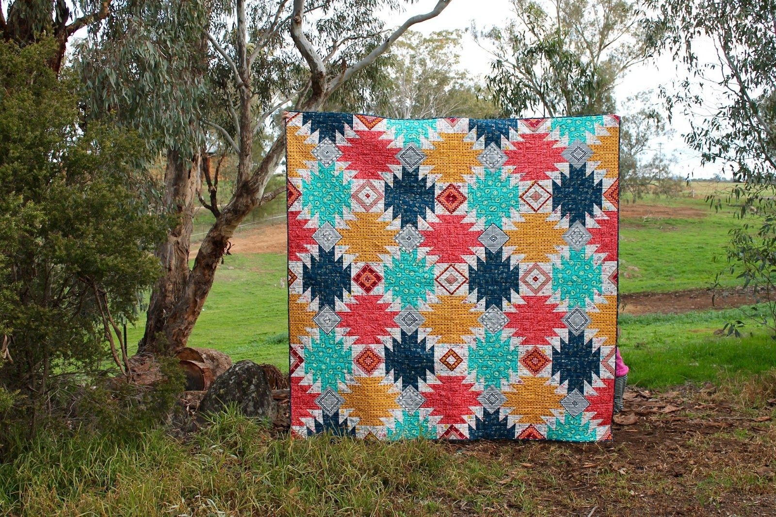 Tales of Cloth: Mountain Campfire Quilt