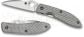 Spyderco C159GFP Air by Gayle Bradley Folding Knife 2.56 inch CPM-M4 Satin Plain Blade, Glass Fiber Handles