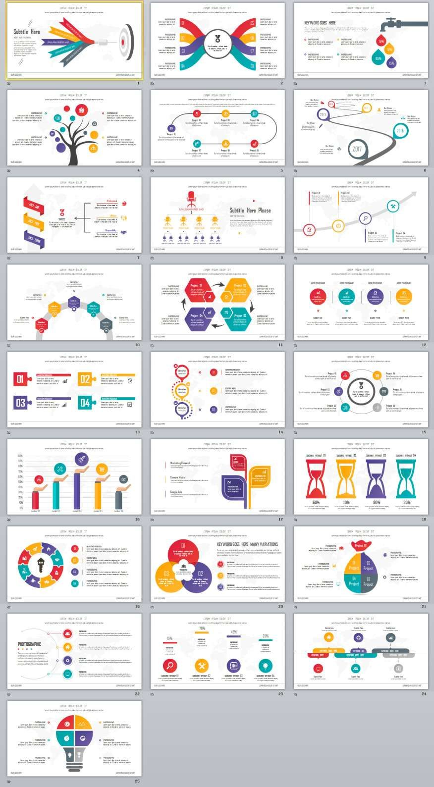 25 charts infographics powerpoint templates samba ideas 25 charts infographics powerpoint templates alramifo Images