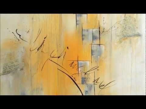 acrylmalerei abstraktes blumenbild sabine belz youtube idee farbe abstrakte maltechniken skulpturen künstler bild leinwand abstrakt