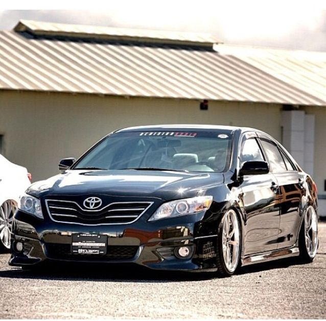 Bagged Camry Upgrade The Interior Of Your Camry With A Customdashkit Www Rvinyl Com Carbon Fiber Dash Kits Toyota C Toyota Camry Camry 2007 2011 Toyota Camry