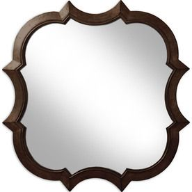 30 In X 30 In Oil Rubbed Bronze Round Framed Wall Mirror