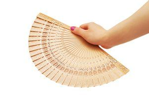 Create Your Own Chinese Fans From Paper And Popsicle Sticks