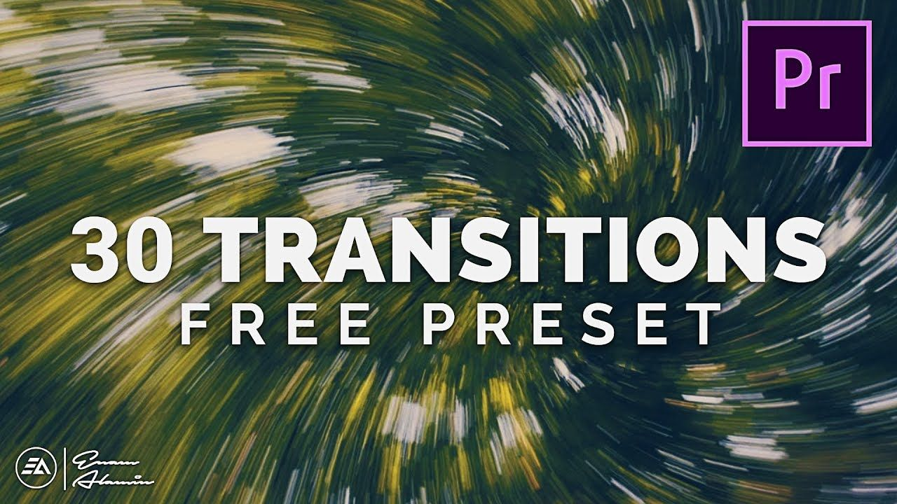 30 Free Smooth Transitions Preset Pack For Adobe Premiere Pro