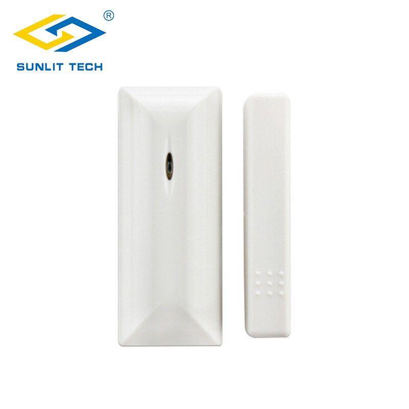 1 2 5pcs 433mhz 868mhz Wireless Door Window Sensor Alarm System For Home Security Door Magnetic Switch Detector For Our Sys Alarm Systems For Home Security Door Windows Doors