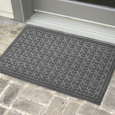 Water Dirt Shield Green Piece Entry Mat Entry Mats Stained Glass Door Mats