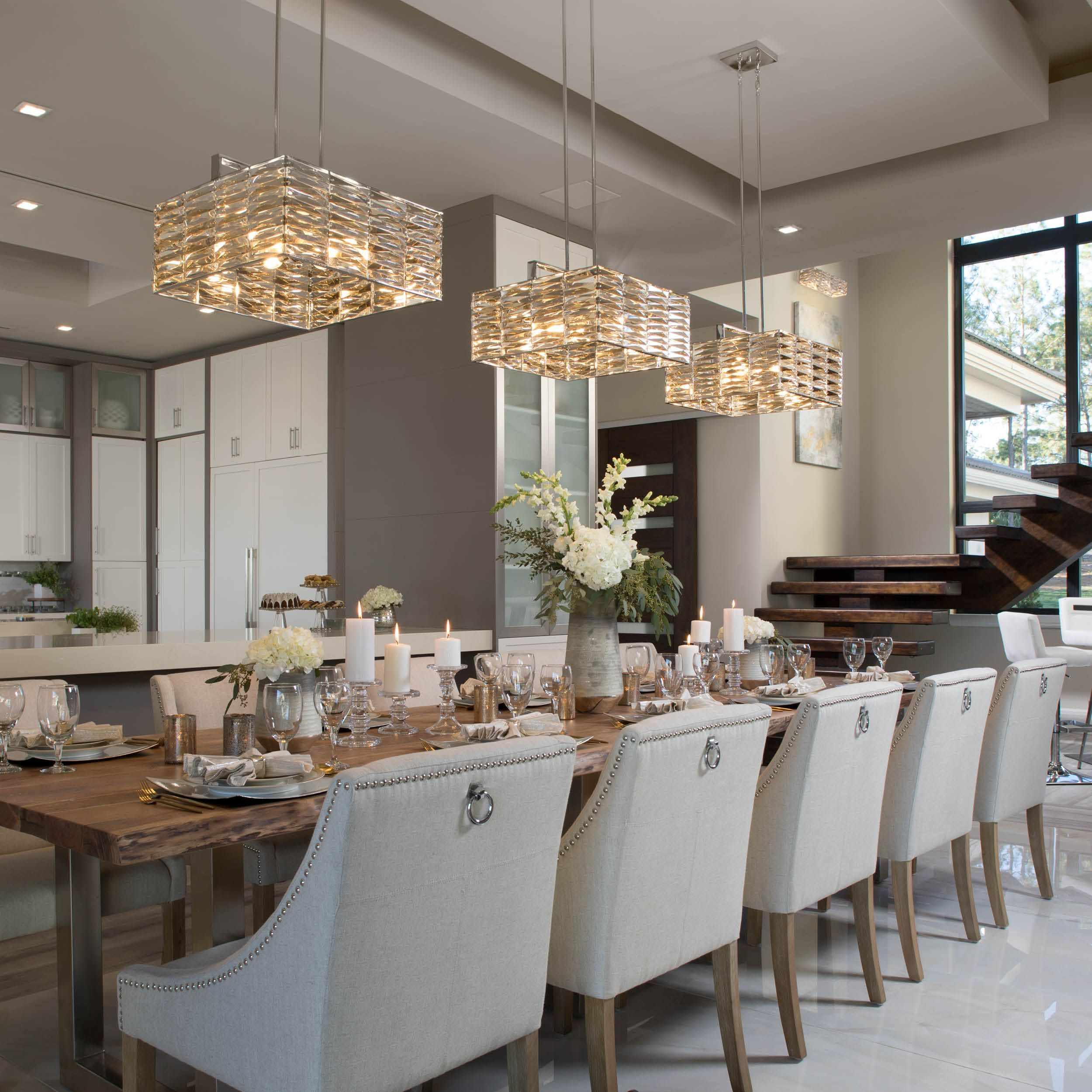 Have A Large Dining Room Table And Need Lighting To Cover The