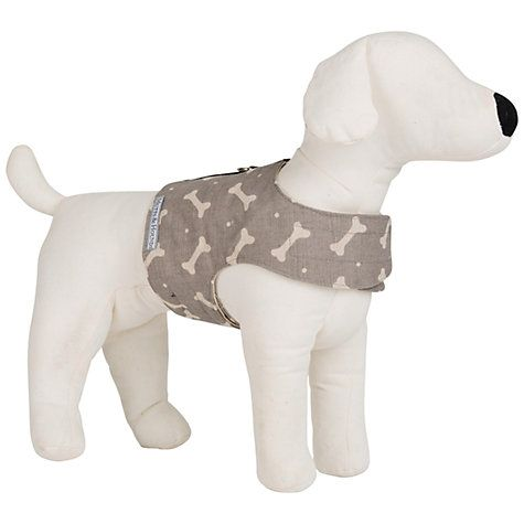 Buy Mutts Hounds Bone Print Soft Dog Harness Online At Johnlewis