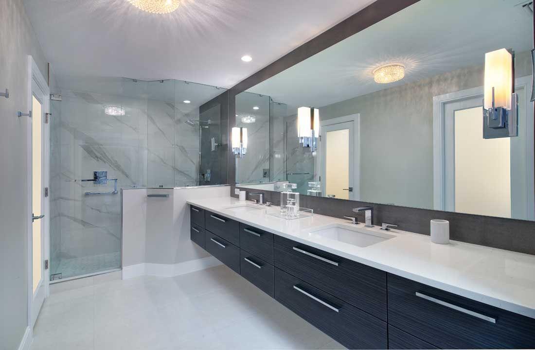 Contemporary Condo Bathroom Remodel In Naples Fl Gulf Shore Blvd Bathroom Remodel Shower Bathtub Shower Remodel Tub To Shower Remodel [ jpg ]