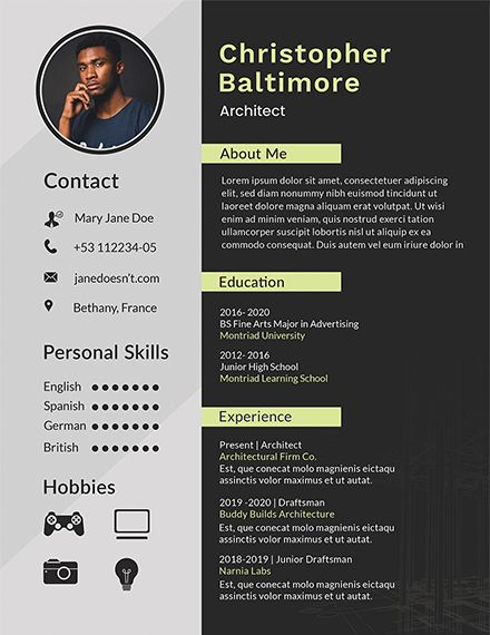 Free Diploma Resume - Architect resume, Resume design template, Resume design free, Resume template word, Resume design creative, Modern resume design - Instantly Download Free Diploma Resume Template, Sample & Example in Microsoft Word (DOC), Adobe Photoshop (PSD), Adobe InDesign (INDD & IDML), Apple Pages, Microsoft Publisher, Adobe Illustrator (AI) Format  Available in (US) 8 5x11 inches + Bleed  Quickly Customize  Easily Editable & Printable