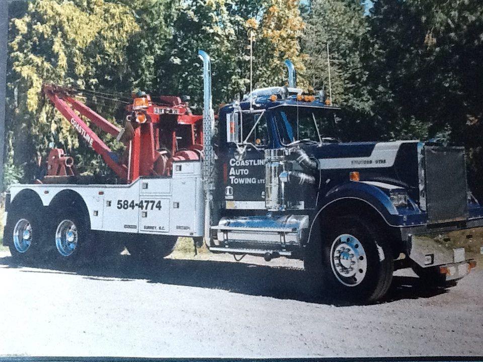 Western star coastline auto towing wrecker truck for Jamie davis motor truck