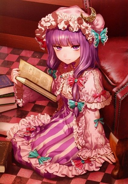 Touhou Project Patchouli Knowledge Artwork By Kikugetsu パチュリー アニメ 東方project
