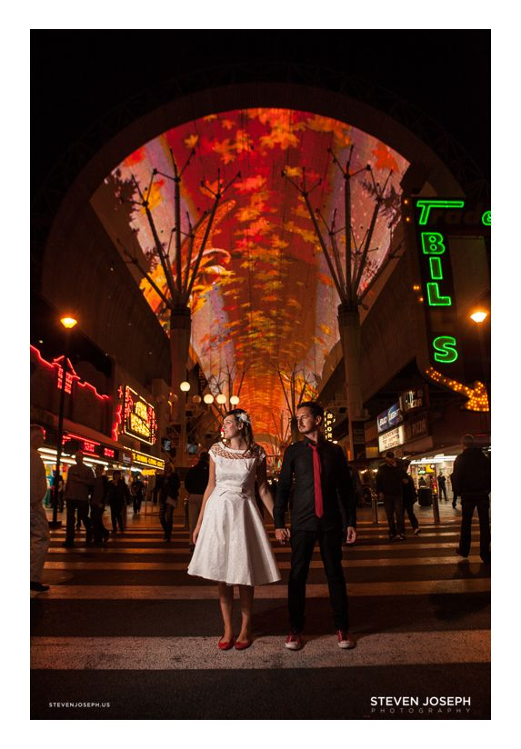 Urban Wedding Ideas Unique Elopement Old School Vegas Pictures