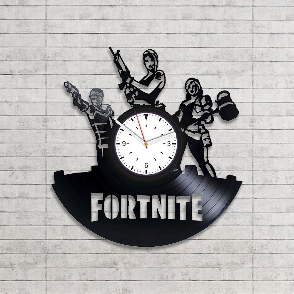 Fortnite Wall Art Silk Print Picture Poster Alarm Clock Combine Christmas Gifts