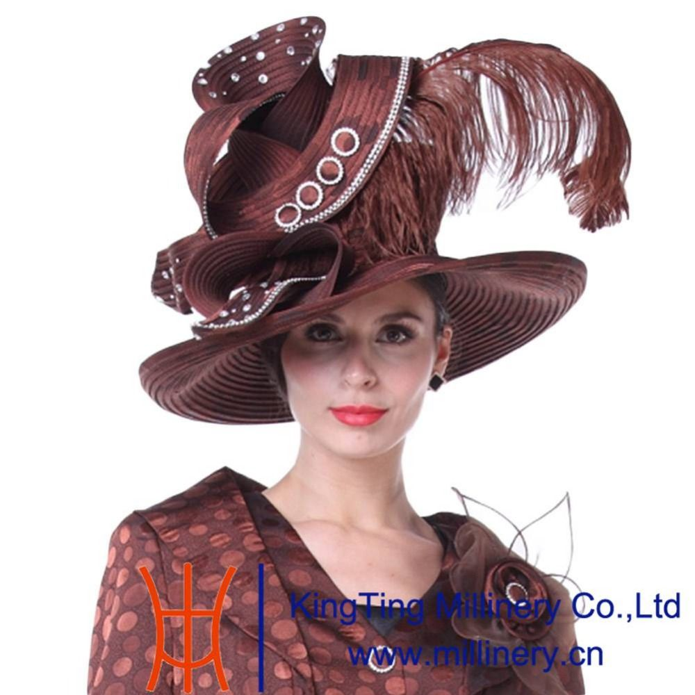 Click to Buy    Kueeni Women Church Hats Couture Hats Mother of Bride 375c09a667b