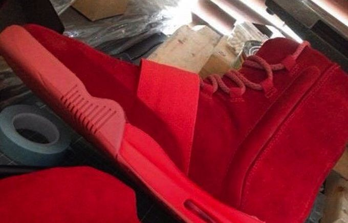 adidas Yeezy 750 Boost Red October