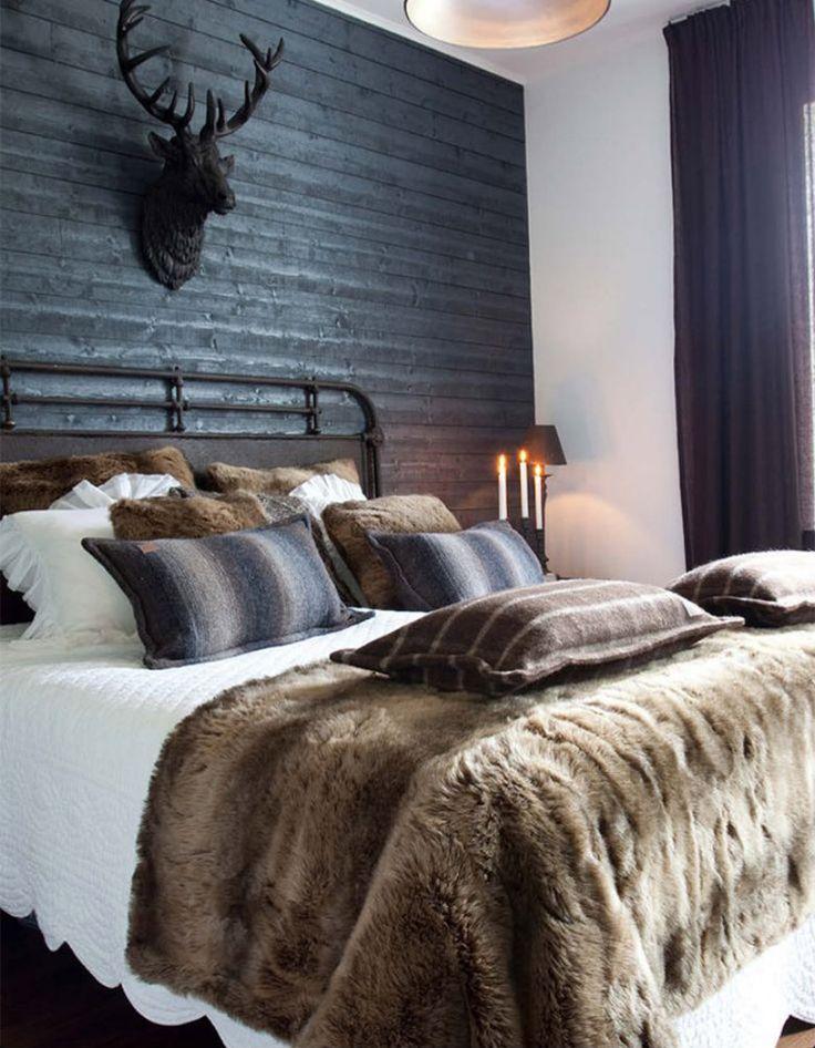 Erstaunlich Der Winter Kommt: Innenarchitektur Trends Für Chalet Schlafzimmer  Deko U003e Entdecken Sie Einrichtungsideen Zu