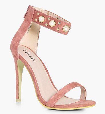 Zapatos rojos Boohoo para mujer ZQ0bmSs6sr