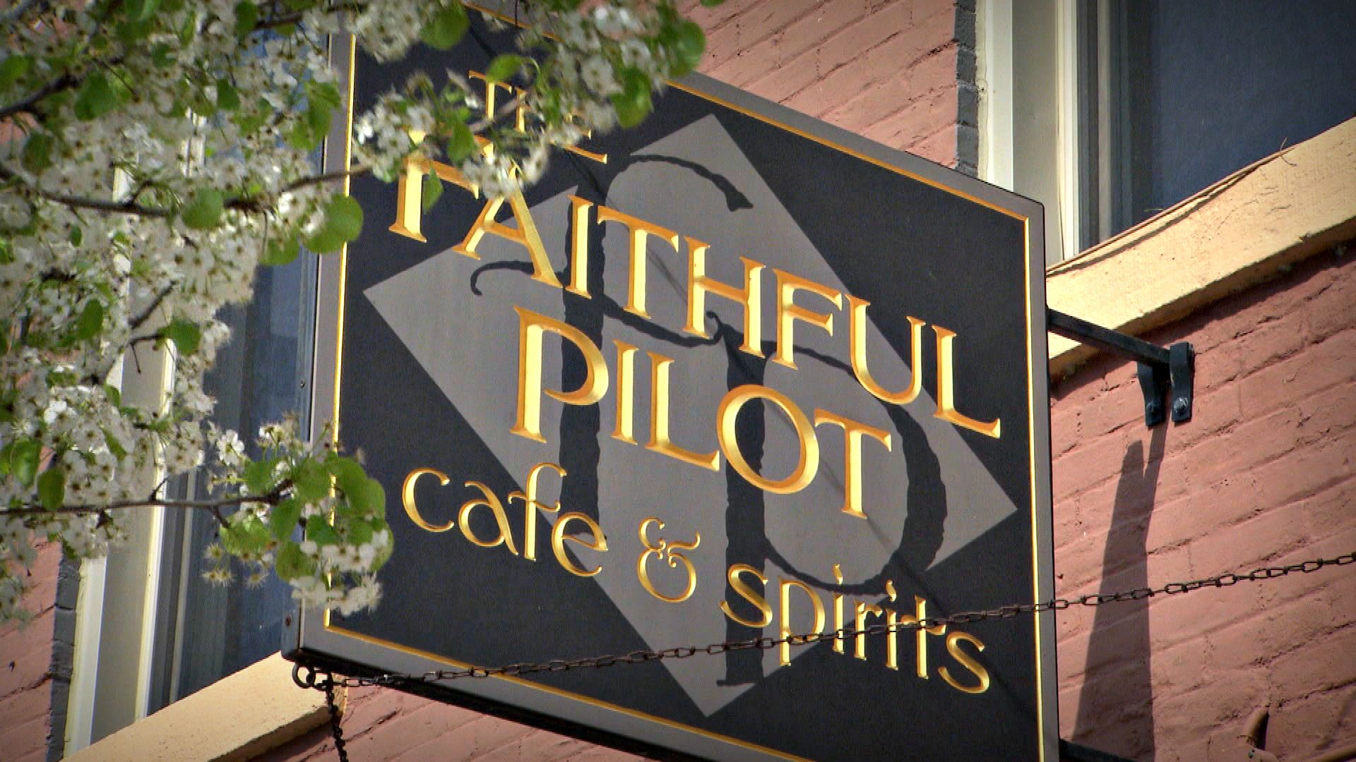 The Faithful Pilot Cafe Spirits In Leclaire Ia Chef Robert Day Melon
