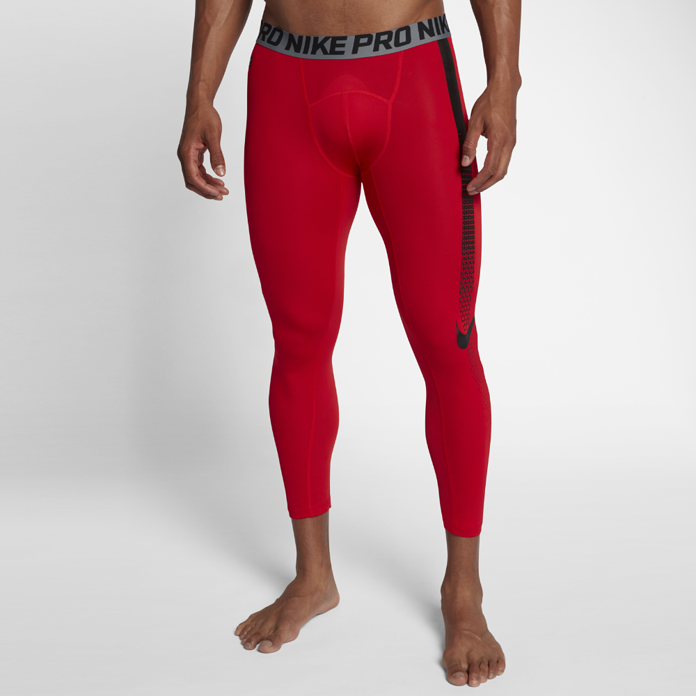 d96d42efb3a61 Nike Pro Men's 3/4 Football Tights Size Medium (Red) | Products