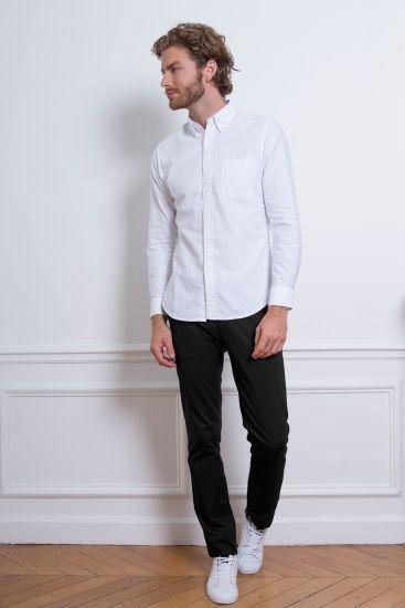 LEPANTALON - Chino Noir | Pantalon chino,