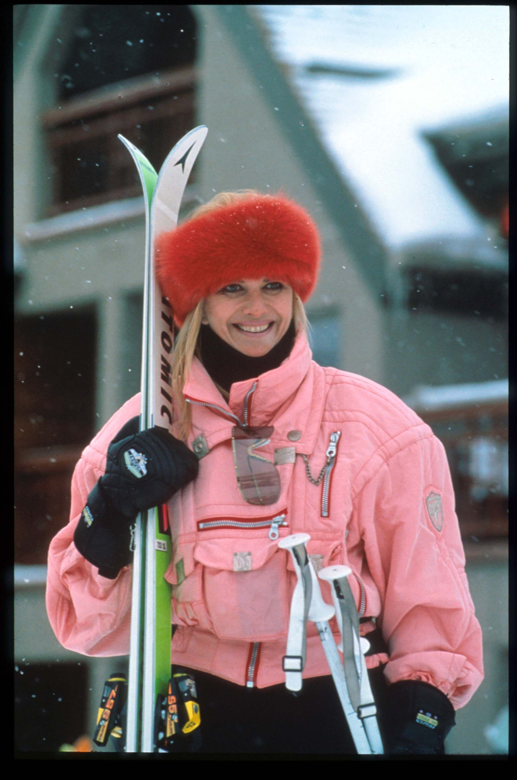 Former model, socialite and yes, Olympic skier, Ivana Trump doesn't shy away from an opportunity to wear stand-out colors in Aspen. #lifegoals Getty / Russell Turiak / Contributor - TownandCountryMag.com