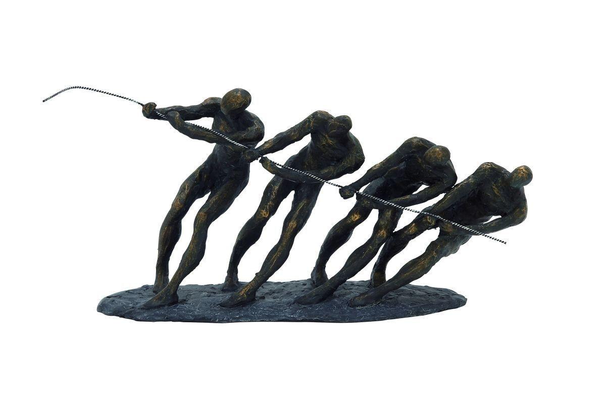 Polystone Metal Sculpture