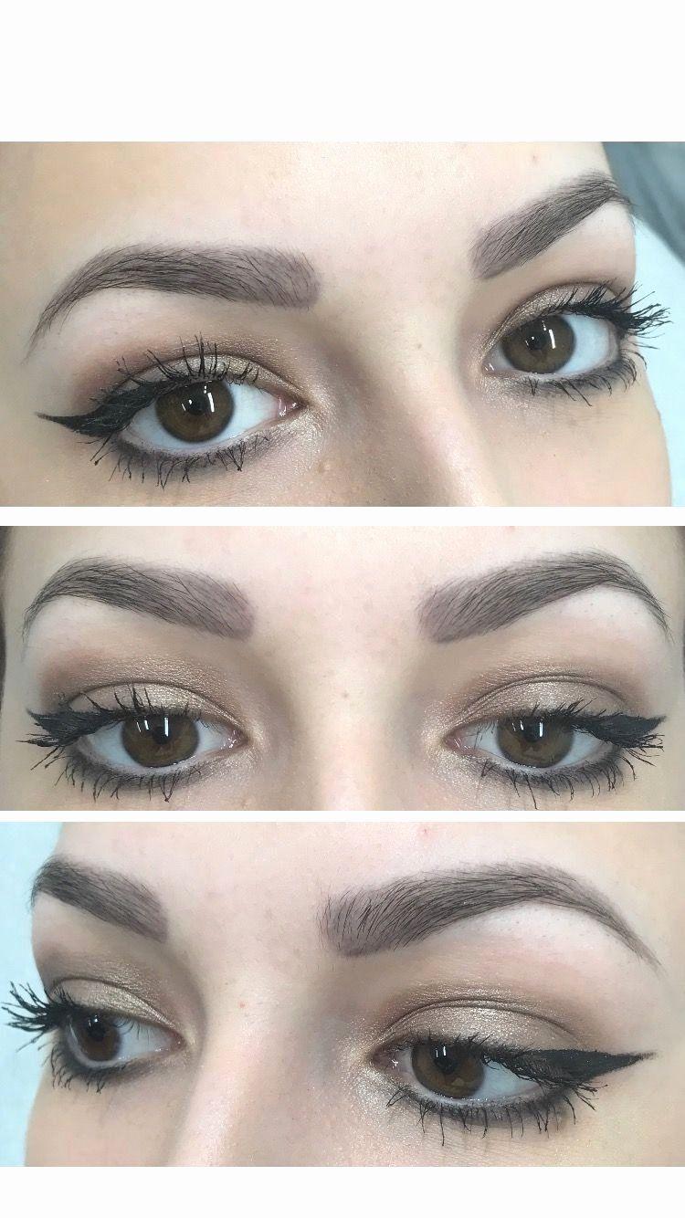 Eyebrow Tattoo Process New Eyebrow Permanent Makeup