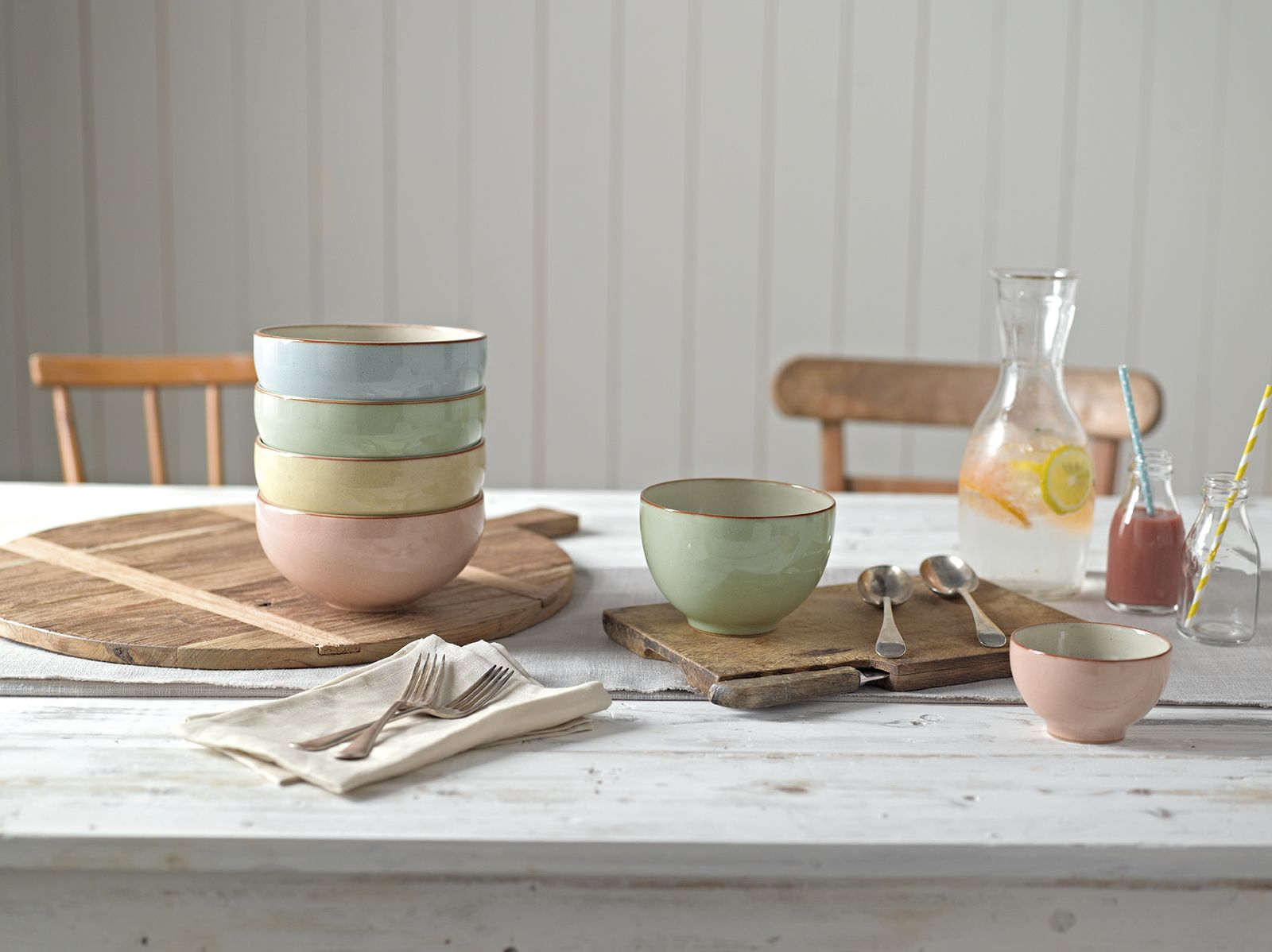 Set the table with delicate shades from our Heritage collections #denby # tableware & Set the table with delicate shades from our Heritage collections ...