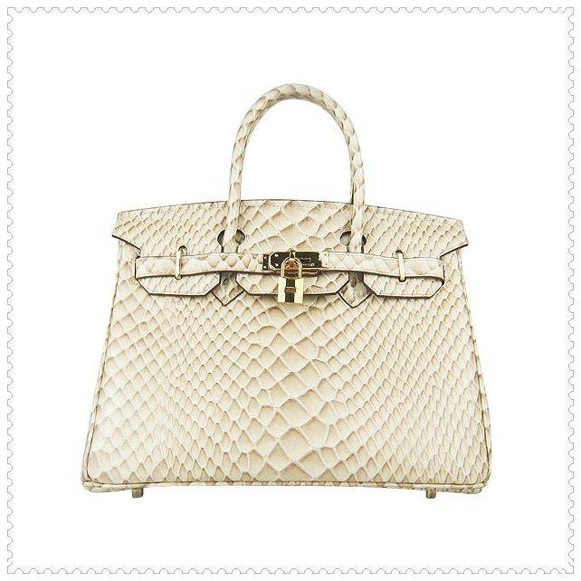 75c6b66913d Hermes Birkin Bag Python Golden 30CM   birkin bag   Hermes birkin ...