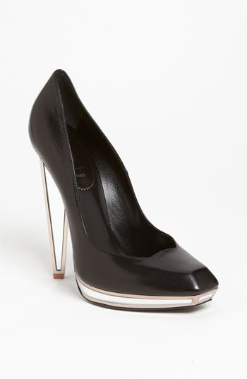 3dd326eaf27 Free shipping and returns on Yves Saint Laurent Mirror Heel Pump at  Nordstrom.com. Mirrored insets refine the heel and platform of a  distinctive-cut pump ...