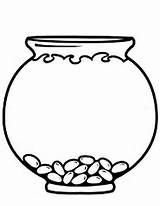 empty fishbowl templates education pinterest coloring pages