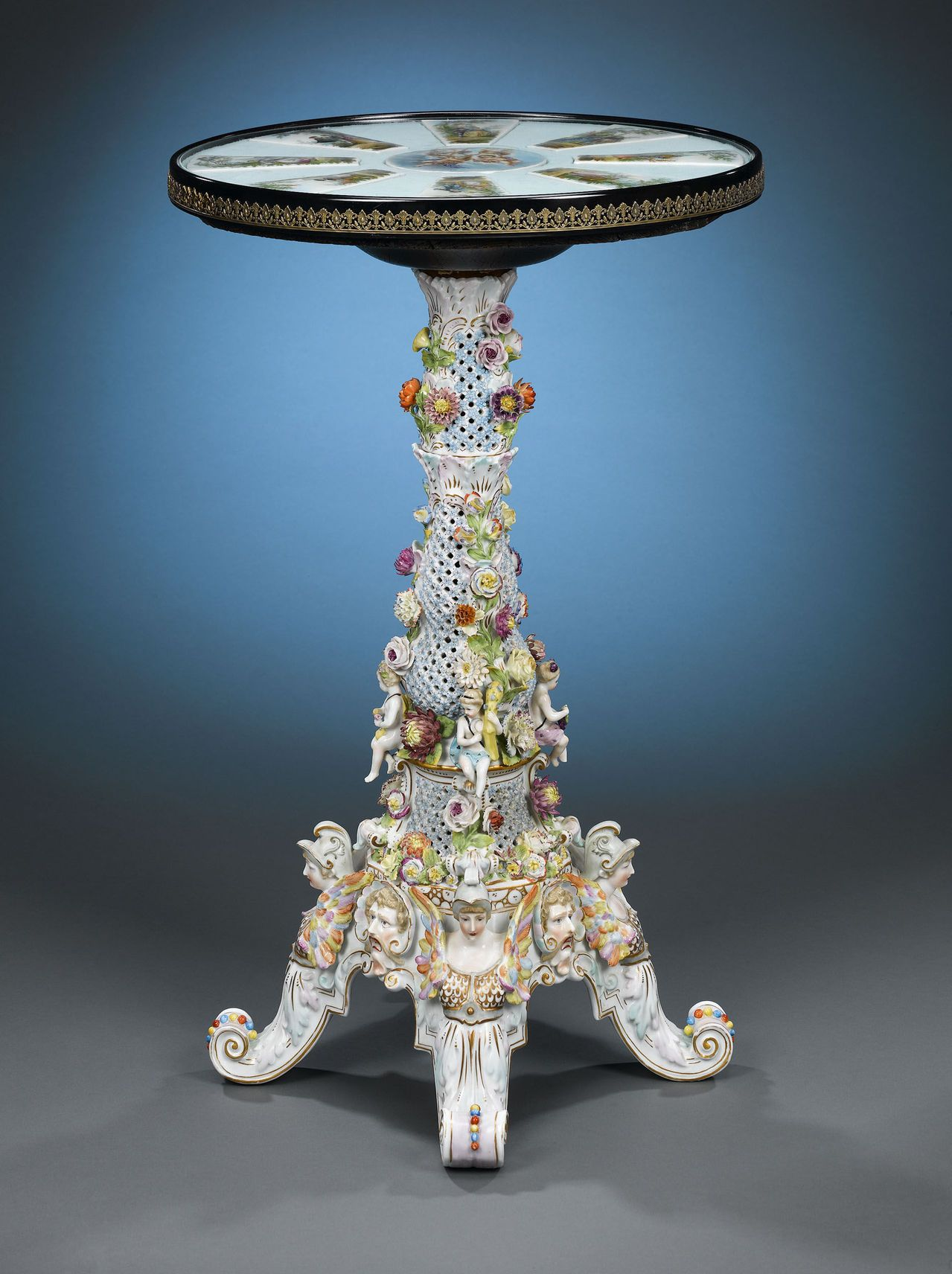 Dresden Porcelain Table 1890