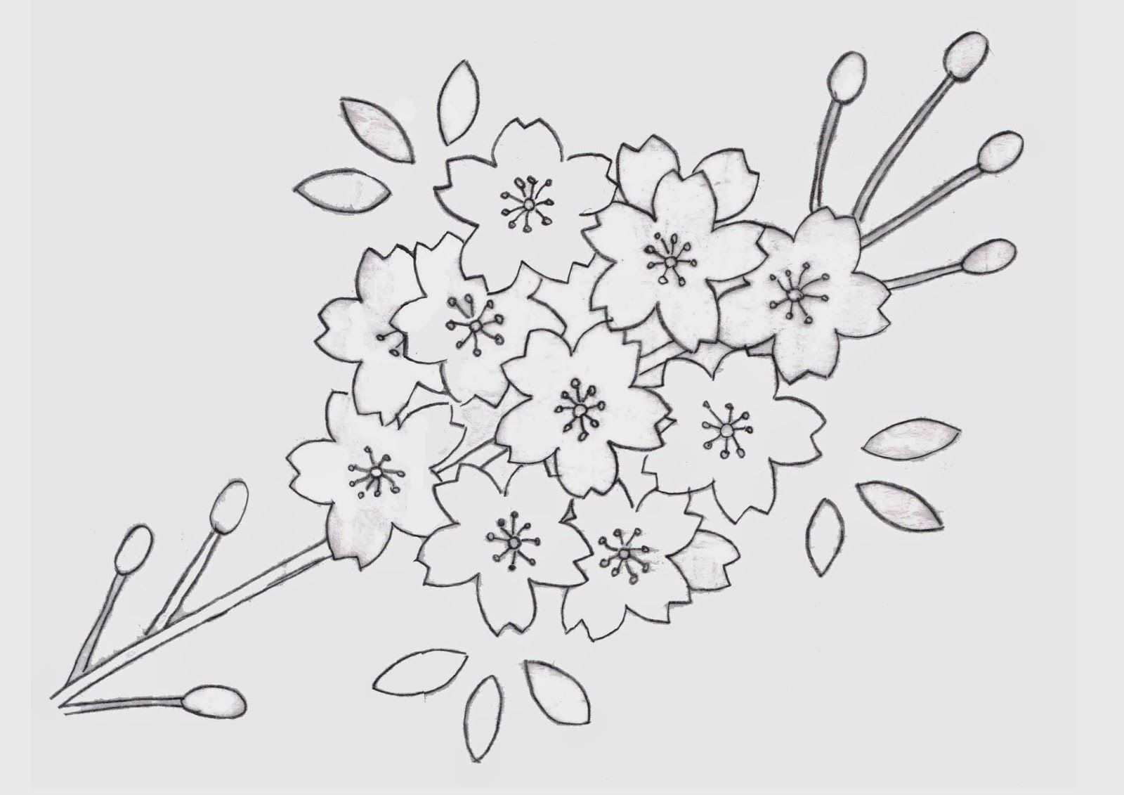 11+PATTERN+Flower+quilt+blanket+and++pillowcase,+Cherry+blossom.jpg ...