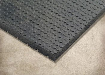 "3/4"" x 4' x 6' Rubber Mat Punter Gym mats, Floor"