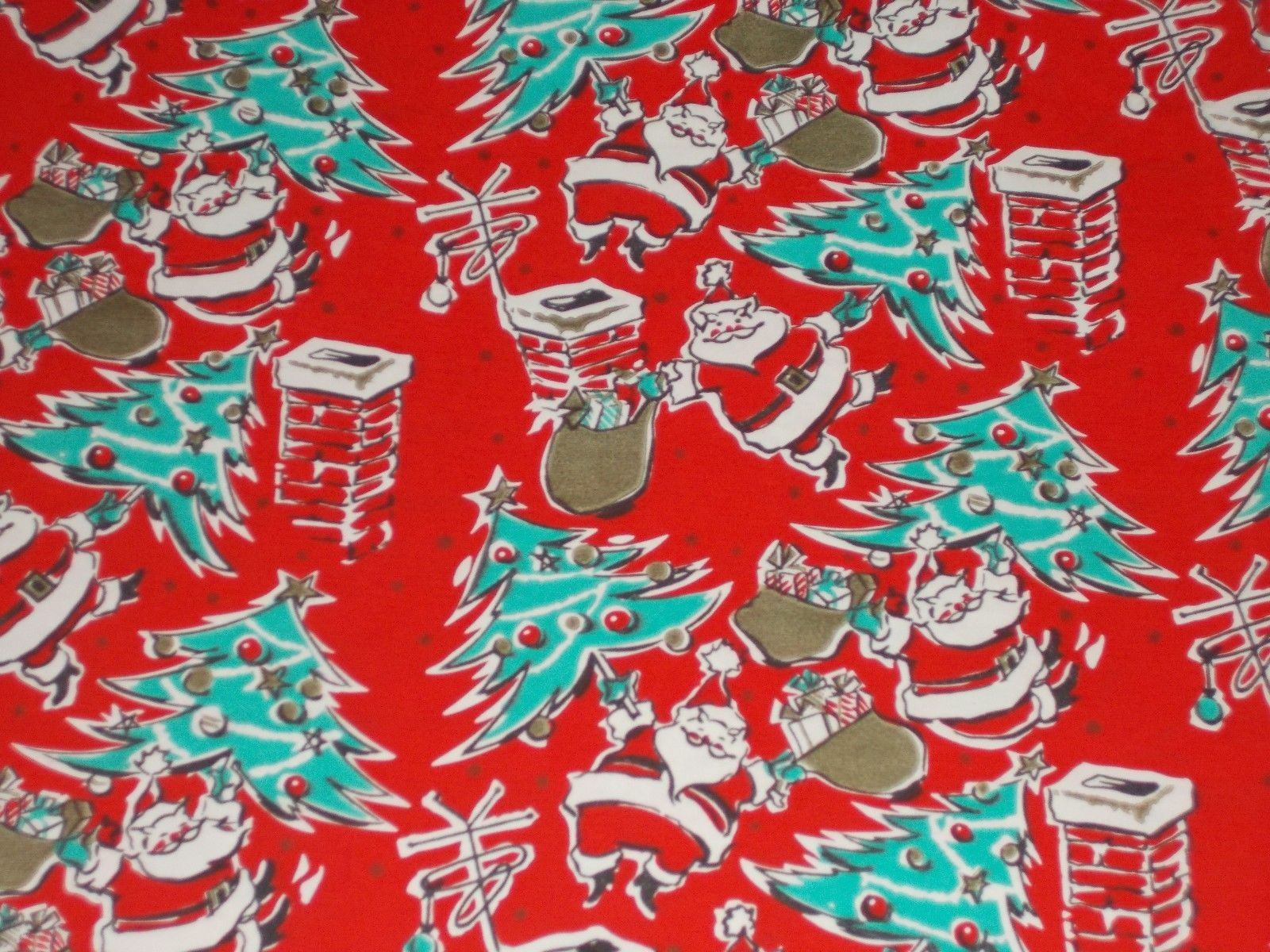 Pin On Gift Wrap Christmas Vintage Other