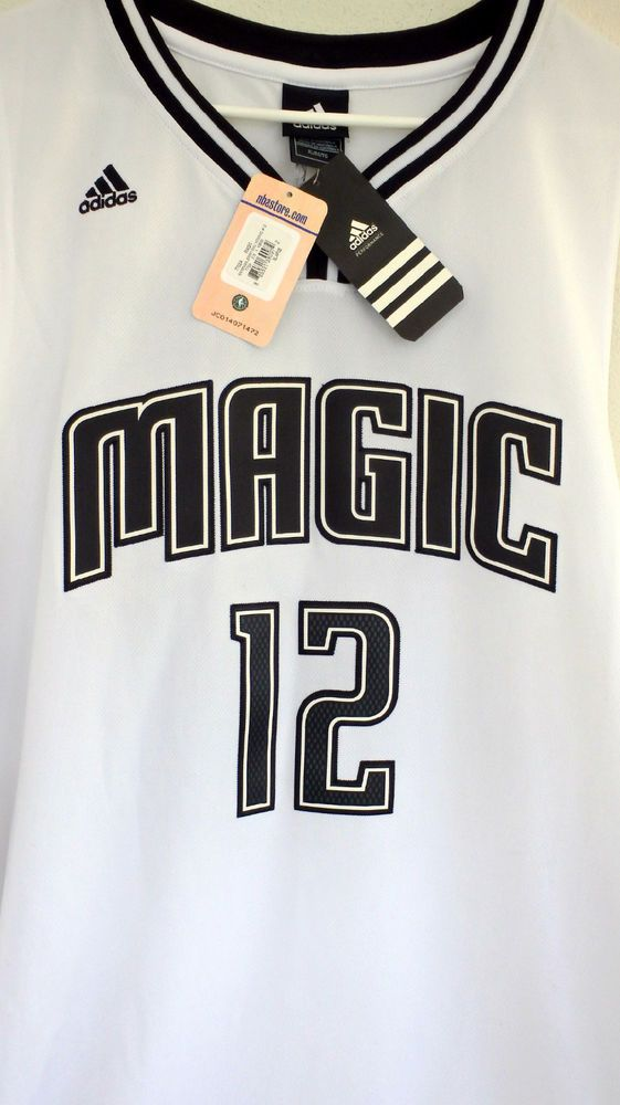 e931d5dd8a8a Orlando Magic Dwight Howard Adidas Black White Jersey Sz XL+2 Special  Edition  adidas  OrlandoMagic
