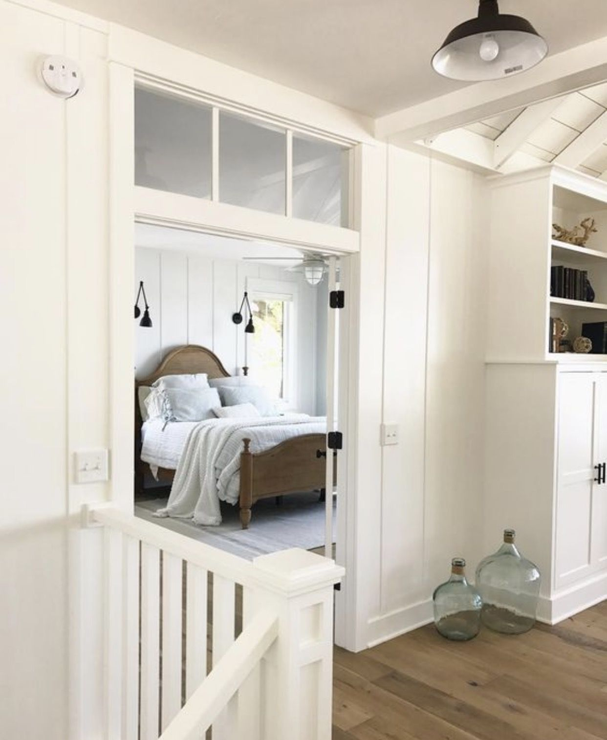 Transom Windows Above All Bedroom Doors Also Like The Idea Of A