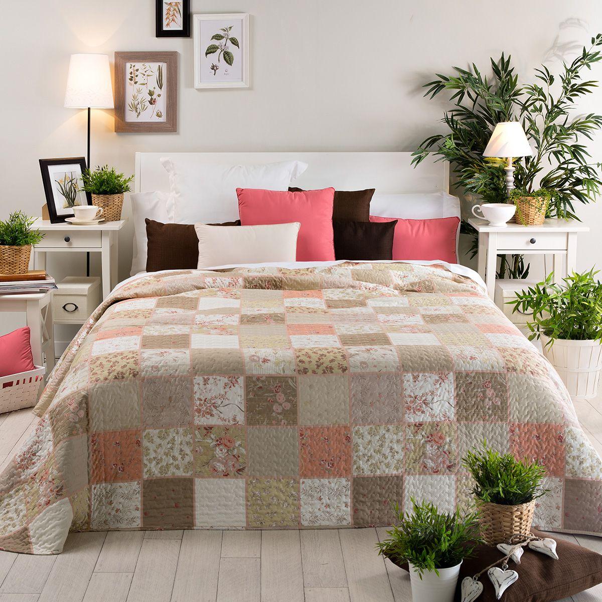 Colcha bouti patchwork garin lorenais pinterest colchas decoraci n de unas y colchas bouti - San carlos ropa de cama ...