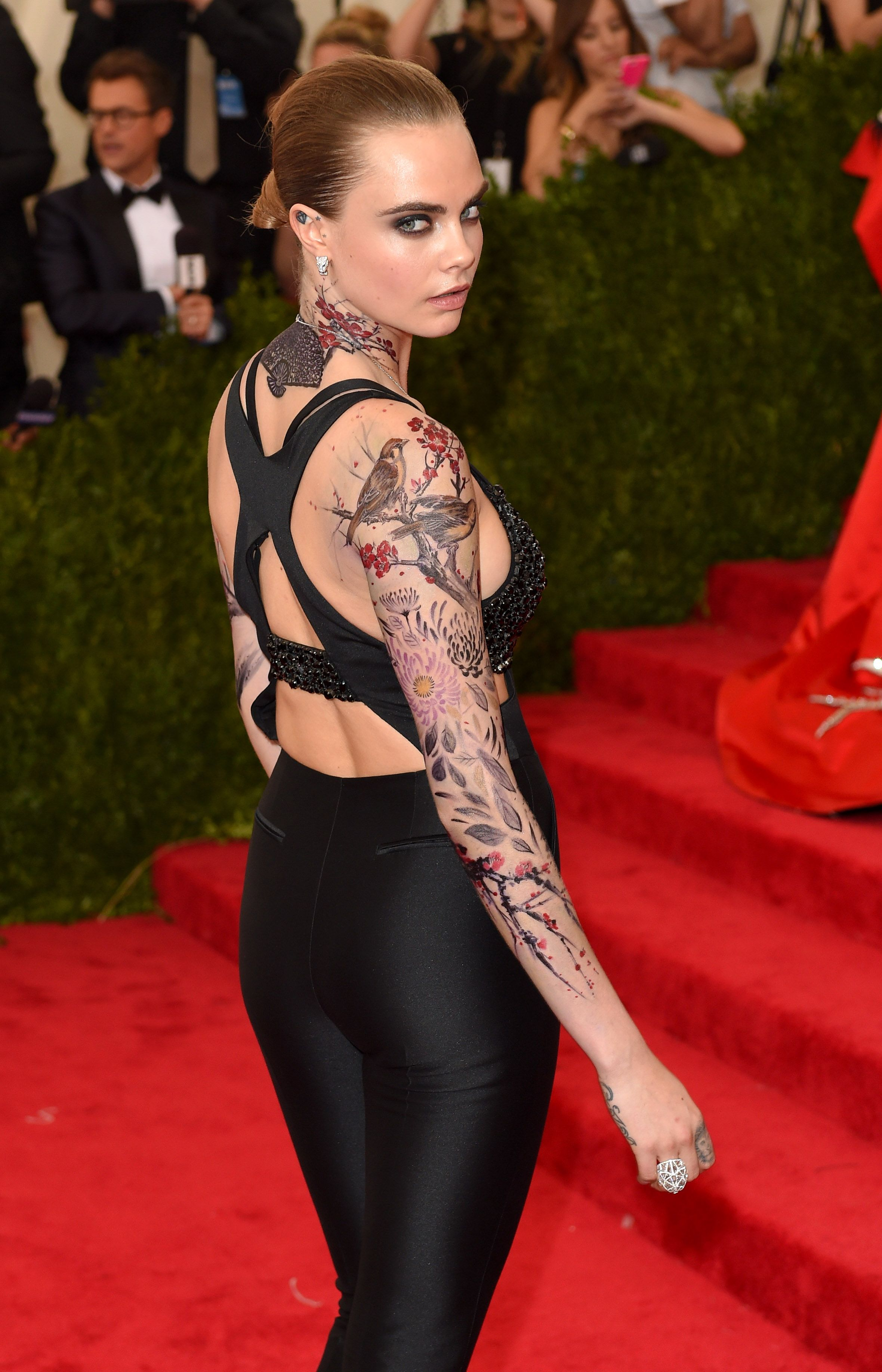 Cara Delevingne Google Search Celebrity tattoos, Full