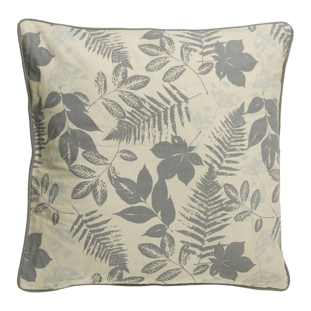 Wilko Leaf Cushion 43x43cm